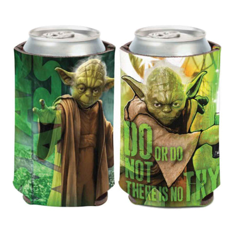 "Shop Yoda STAR WARS WinCraft ""Do or Do Not, There is No Try"" Can Cooler (12oz)"