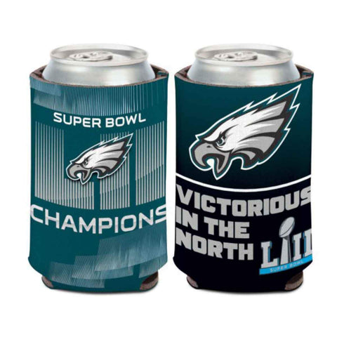 Philadelphia Eagles 2018 Super Bowl LII Champions WinCraft Slogan Can Cooler