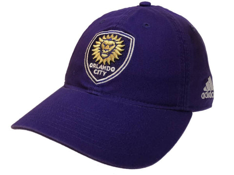 Orlando City SC Adidas Purple Crew Adjustable Strapback Slouch Relax Hat Cap