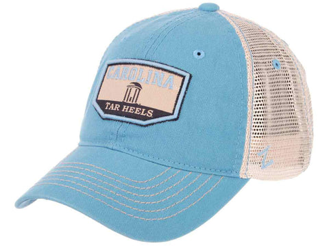 "North Carolina Tar Heels Zephyr ""Trademark"" Old Well Mesh Adj. Slouch Hat Cap"