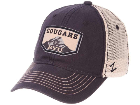 wholesale dealer 28b5d 7cbbe BYU Cougars Zephyr Navy