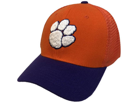 "Clemson Tigers TOW Orange & Purple ""Series"" Mesh Structured Adj. Strap Hat Cap"