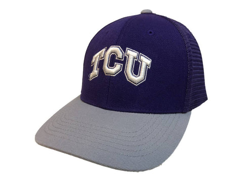 "TCU Horned Frogs TOW Purple & Gray ""Series"" Mesh Structured Adj. Strap Hat Cap"