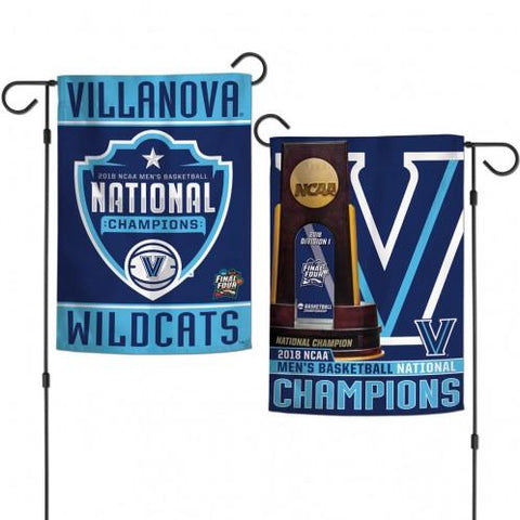 Villanova Wildcats 2018 NCAA Men's Basketball National Champions Garden Flag