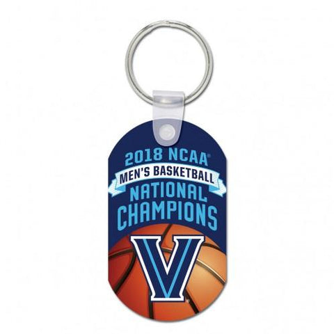 Villanova Wildcats 2018 NCAA Basketball National Champions Aluminum Keychain