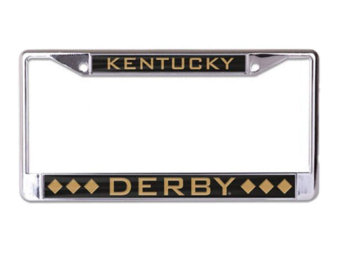 2018 Kentucky Derby Churchill Downs Metal Crystal Cut Inlaid License Plate Frame