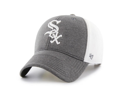 Chicago White Sox 47 Brand Two-Tone Haskell MVP Mesh Structured Adj. Hat Cap