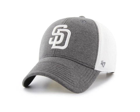 San Diego Padres 47 Brand Two-Tone Haskell MVP Mesh Structured Adj. Hat Cap
