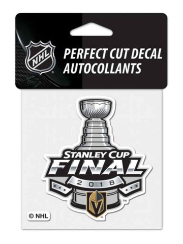 Las Vegas Golden Knights 2018 Stanley Cup Final Western Conf Champions Decal 43525e0f4