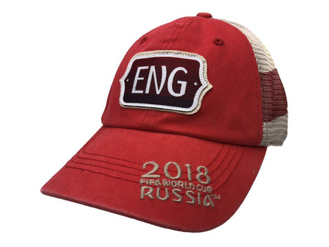 "England ""ENG"" 2018 FIFA World Cup Russia Red ""Flagtacular"" Style Mesh Hat Cap"