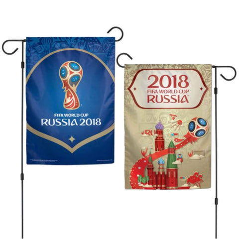 2018 FIFA World Cup Russia WinCraft Indoor & Outdoor Dual Sided Garden Flag