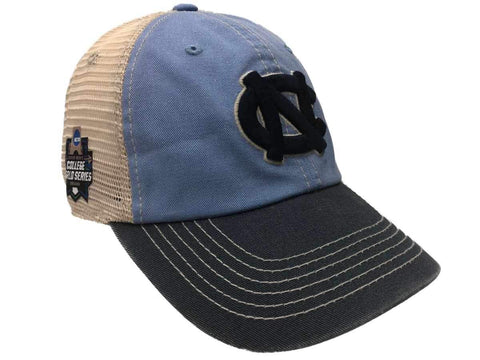 North Carolina Tar Heels 2018 College World Series CWS Mesh Adj Relax Hat Cap - Sporting Up
