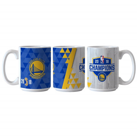 Golden State Warriors 2018 NBA Finals Champions Ceramic Sublimated Coffee Mug