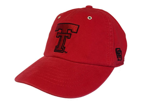 Texas Tech Red Raiders Retro Brand Red Crew Adjustable Buckle Slouch Hat Cap