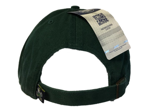 buy popular b563c ac14c ... new zealand notre dame fighting irish 47 brand dark green clean up adj.  strap slouch