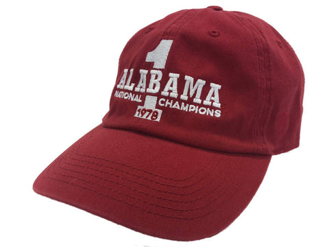 Alabama Crimson Tide TOW 40th Anniversary 1978 National Champions Crew Hat Cap