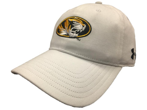 Shop Missouri Tigers Under Armour Mens Cotton Slouch Adjustable Strap Hat Cap