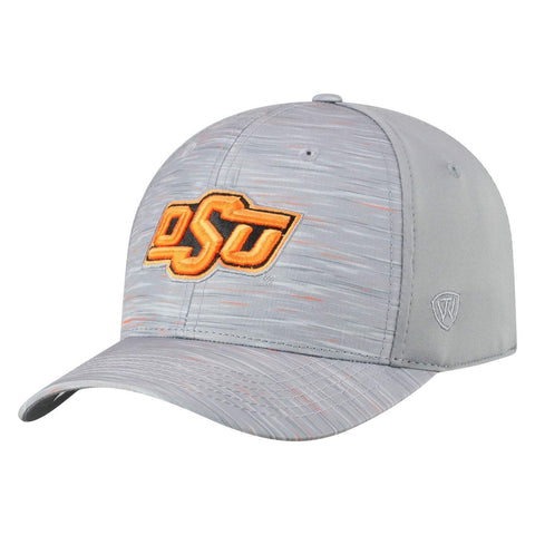 "Oklahoma State Cowboys TOW Gray ""Hyper"" Memory Fit Hat Cap"
