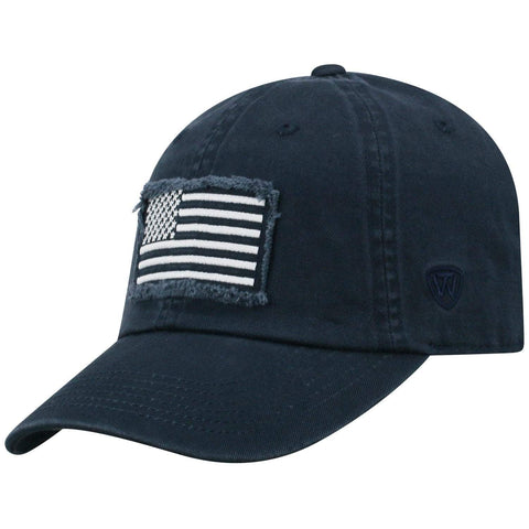 "Penn State Nittany Lions TOW Navy ""Flag 4"" Crew Adj. Relax Hat Cap"
