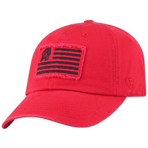 "Maryland Terrapins TOW Red ""Flag 4"" Crew Adj. Relax Hat Cap"
