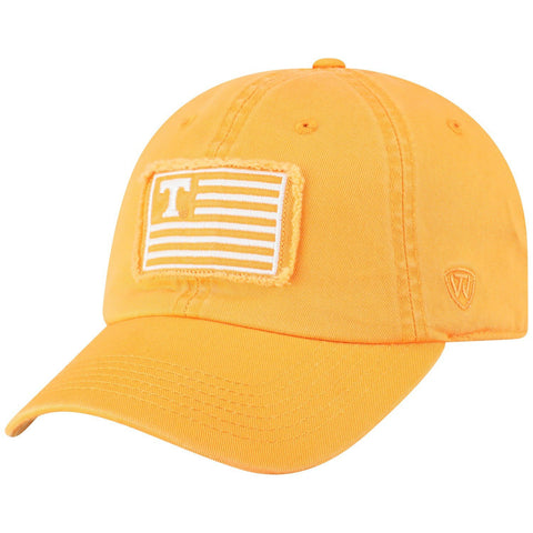 "Tennessee Volunteers TOW Orange ""Flag 4"" Crew Adj. Relax Hat Cap"