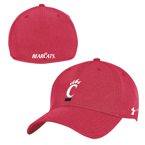 Cincinnati Bearcats Under Armour Red Airvent Coolswitch Sideline Hat Cap