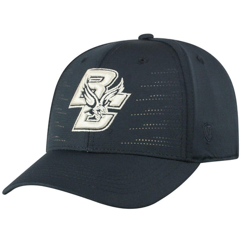"Boston College Eagles TOW Black ""Dazed"" Structured Flexfit Hat Cap"