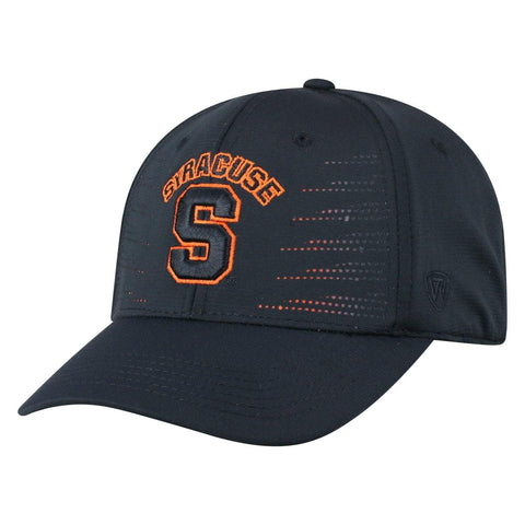 "Syracuse Orange TOW Black ""Dazed"" Structured Flexfit Hat Cap"