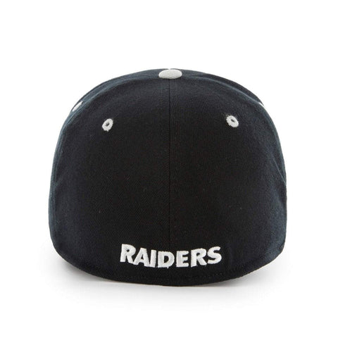 6089987e25820 ... Oakland Raiders 47 Brand Two-Tone Contender Stretch Fit Hat Cap