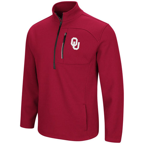 Oklahoma Sooners Colosseum Townie 1/2 Zip Pullover Jacket - Sporting Up