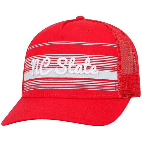 "NC State Wolfpack TOW Red ""2Iron"" Structured Mesh Adj. Hat Cap"