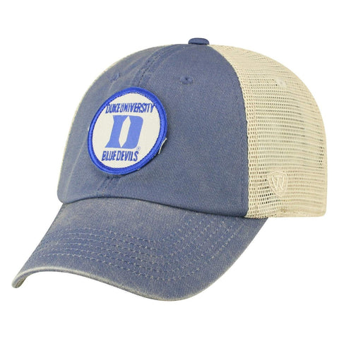 "Duke Blue Devils TOW Keepsake ""Bench Burning Durham"" Mesh Adj. Hat Cap"
