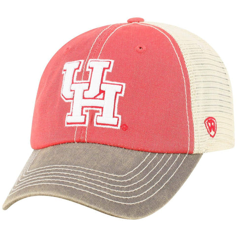 Houston Cougars TOW Scarlet Red Offroad Mesh Snapback Hat Cap