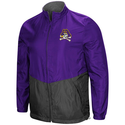 "Shop East Carolina Pirates ""Halfback"" Reversible Polar Fleece/Rain Jacket"