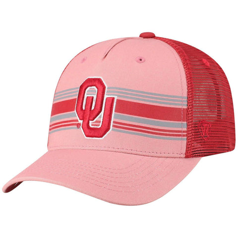 "Oklahoma Sooners TOW ""Inferno"" Mesh Structured Snapback Hat Cap - Sporting Up"