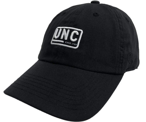 "North Carolina Tar Heels TOW Black ""Broadcast"" UNC Adj. Slouch Hat Cap"