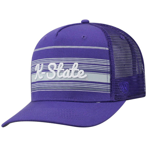 "Kansas State Wildcats TOW Purple ""2Iron"" Structured Mesh Adj. Hat Cap"