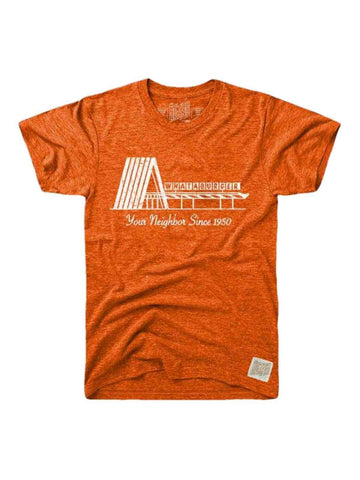 "Whataburger Retro Brand Orange ""Your Neighbor Since 1950"" Tri-Blend T-Shirt"