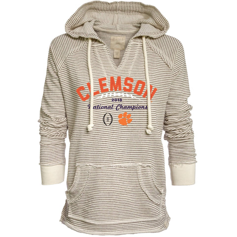 Clemson Tigers 2018-2019 Football National Champions WOMEN Hoodie Sweatshirt