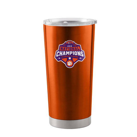 Clemson Tigers 2018-2019 CFP National Champions Stainless Steel Ultra Tumbler