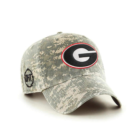 Georgia Bulldogs 47 Brand Operation Hat Trick OHT Digital Camo Relax Hat Cap