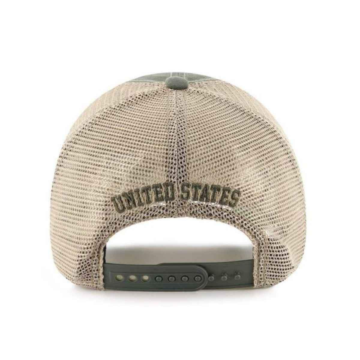Operation Hat Trick OHT American Flag 47 Brand Moss Trawler Mesh Relax Hat  Cap 93220cea4