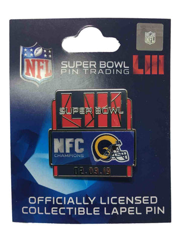 Los Angeles Rams 2018-2019 Super Bowl LIII 02.03.19 NFC Champions Lapel Pin