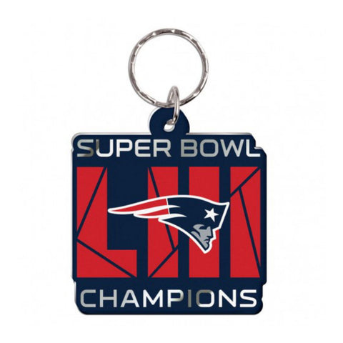 Shop New England Patriots 2018-2019 Super Bowl LIII Champions Acrylic Keychain