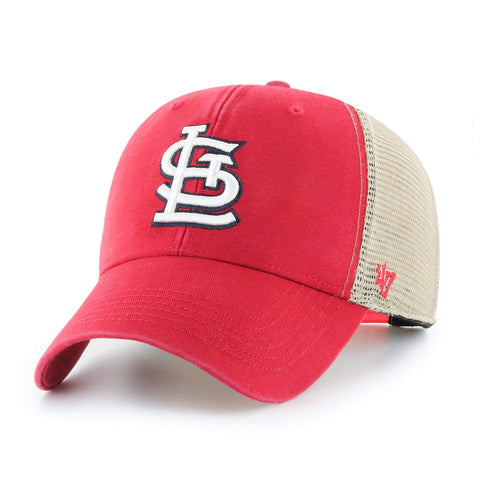 St. Louis Cardinals '47 Flagship MVP Red with Tan Mesh Structured Adj. Hat Cap