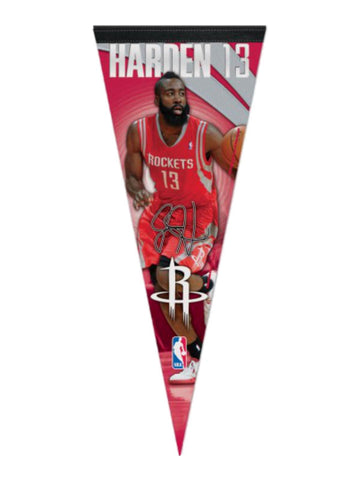 Houston Rockets NBA WinCraft James Harden #13 Premium Felt Pennant