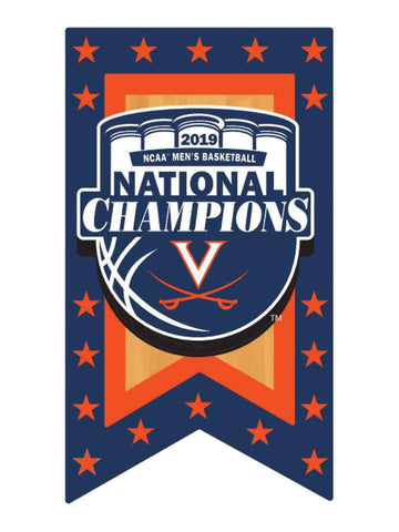 Shop Virginia Cavaliers 2019 NCAA Men's Basketball National Champions Banner Pin