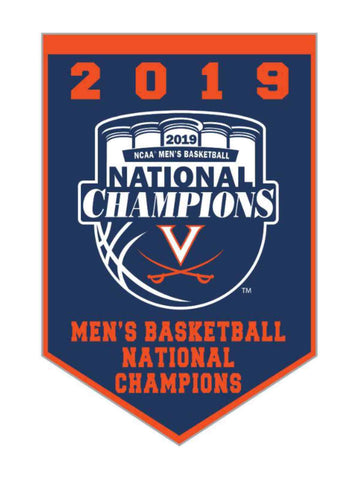 Shop Virginia Cavaliers 2019 NCAA Men's Basketball National Champions Banner Magnet