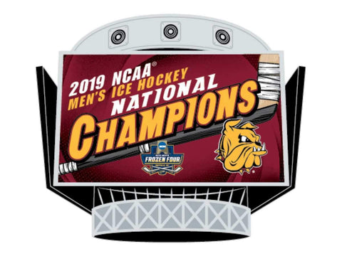 Minnesota Duluth Bulldogs 2019 NCAA Men's Frozen Four Champions Metal Lapel Pin