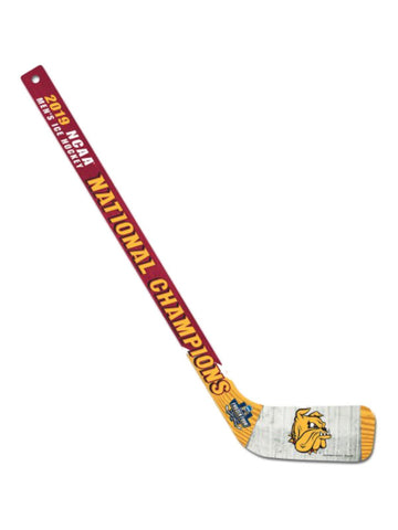 Minnesota Duluth Bulldogs 2019 NCAA Men's Frozen Four Champions Hockey Stick